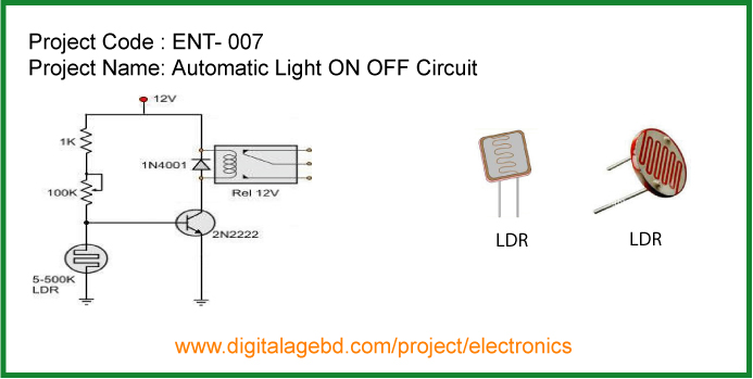 Most Popular Electronics Project, Electrical circuit